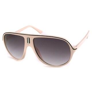 UrbanSpecs NY2397-BEG Aviator Grey Sunglasses