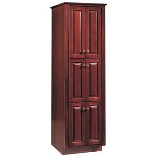 "Hardware House 419978 23.75"" X 21"" X 78"" Cherry Ambrosia Linen Cabinet"