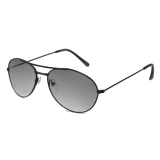 UrbanSpecs NYS464-GUN Aviator Grey Gradient Sunglasses