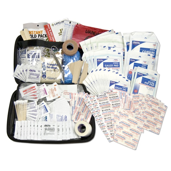 Lifeline Premium Hard Shell Foam 208-piece First Aid Kit