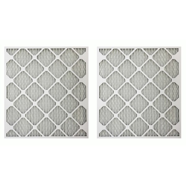 MERV 11 21-inch x 23-inch x 1-inch Allergen Air Furnace Filter (2 Pack)