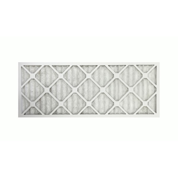 White Paper 12-inch x 30-inch x 1-inch Merv 11 Allergen Air Furnace Filter
