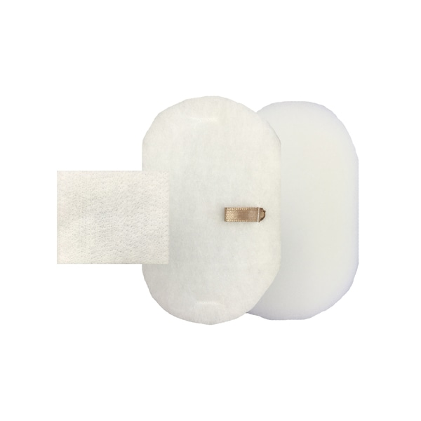 Shark Rocket Powerhead White 3-piece Vacuum Filter Kit, Foam, and Felt