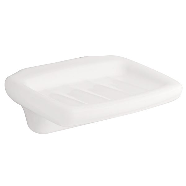 Franklin Brass D8006W White Tuscan Soap Dish