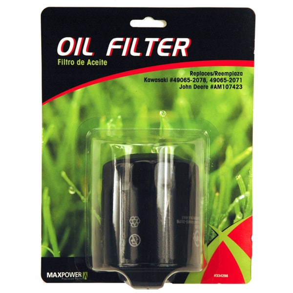 Maxpower 334298 Oil Filter For Kawasaki