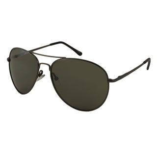 UrbanSpecs LR99755-NICKLE Aviator Green Sunglasses