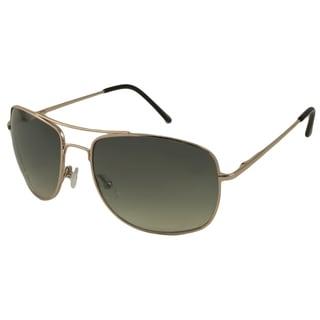 UrbanSpecs LR99747-GLD Aviator Green Gradient Sunglasses