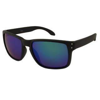 UrbanSpecs LR99150-GRN Sport Green Mirror Sunglasses