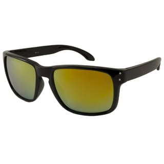 UrbanSpecs LR99150-GLD Sport Green with Gold Mirror Sunglasses