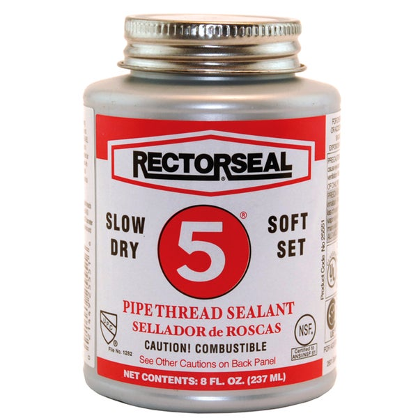 Rectorseal 25551 8 Oz No. 5 Pipe Thread Sealant