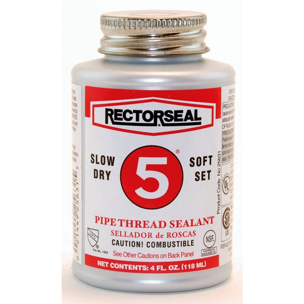 Rectorseal 25631 4 Oz No. 5 Pipe Thread Sealant