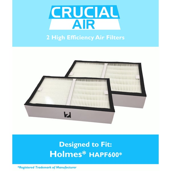2-pack Air Filters for Holmes HAPF600