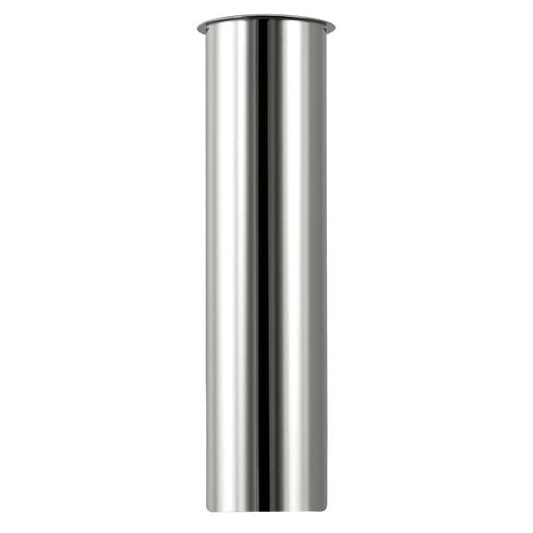 "Plumb Craft Waxman 7631900N 1-1/2"" X 12"" Chrome Kitchen Sink Flanged Tailpiece"