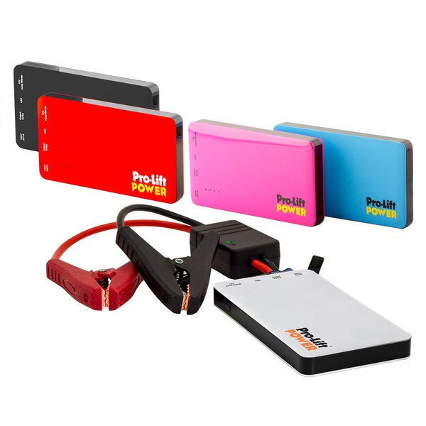 Pro Lift Multifunction Lithium Polymer Power Bank Jump Starter With Starting Current 350 Amps and Peak Current 700 Amps