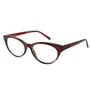 Urbanspecs Readers Cateye Red Reading Glasses