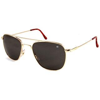 American Optical OP55G.WS.TC Aviator Grey Sunglasses