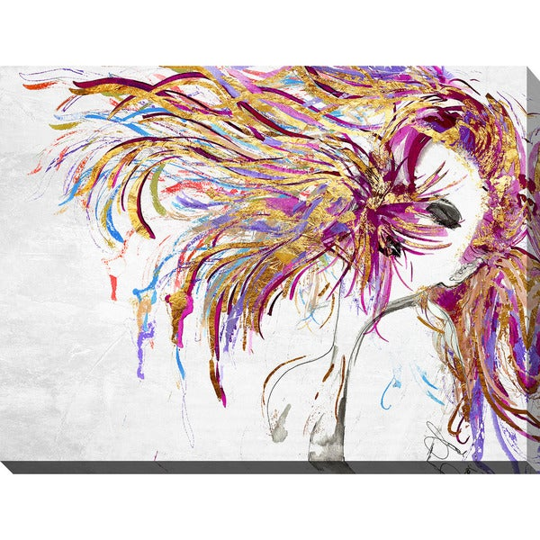 "BY Jodi ""Whip"" Giclee Stretched Canvas Wall Art"