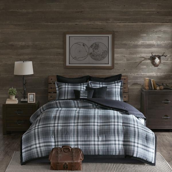 Woolrich Bernard Grey Comforter Set 20230123