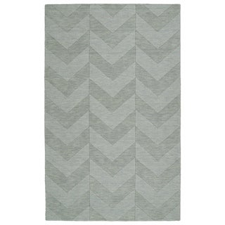 Trends Spa Chevron Wool Rug (8'0 x 11'0)