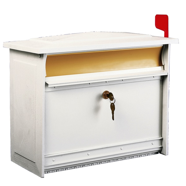 Solar Group MSK0000W X-Large White Mailsafe Lockable Security Mailbox