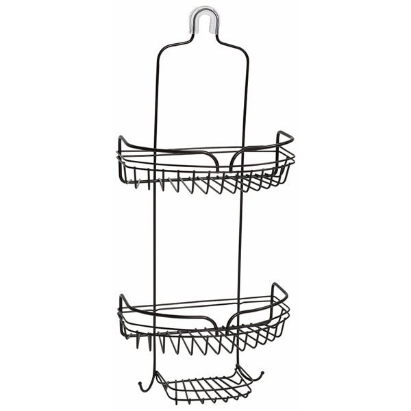 Zenna Home 7529HB Heritage Bronze Over The Shower Head Caddy 20232555