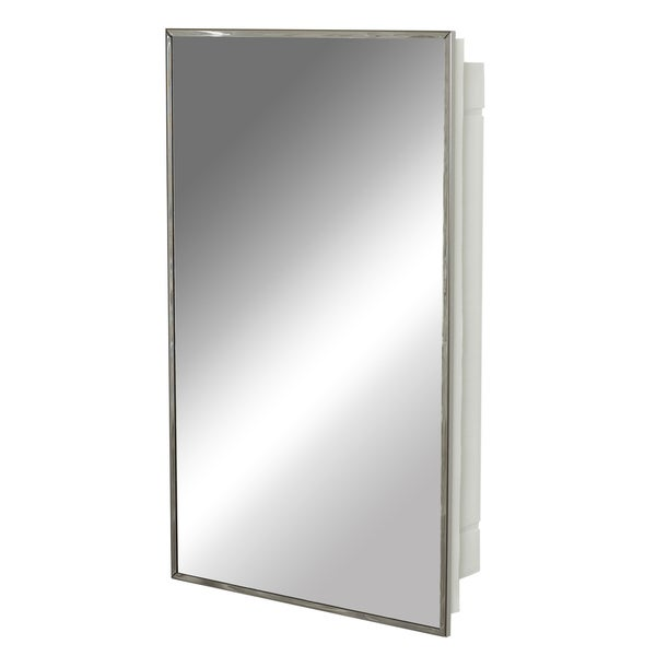Zenith 105 Stainless Steel Frame Medicine Cabinet