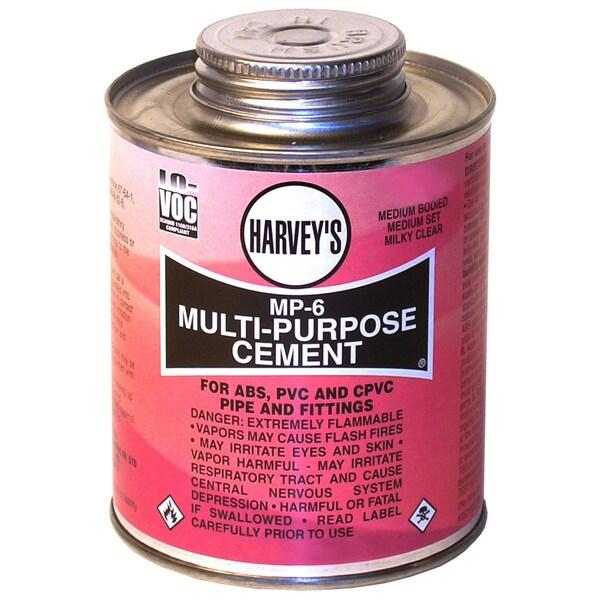 WM Harvey 018000-24 4 Oz MP-6 Multi-Purpose Cement Clear
