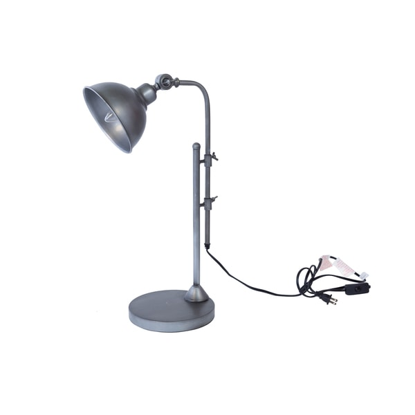 Bombay Pewter Table Lamp