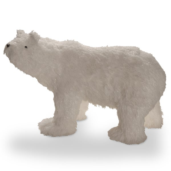 White Cotton Fabric 15-inch Polar Bear