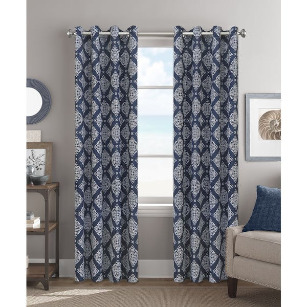 Colordrift Eliza 84-inch Grommet Top Single Curtain Panel