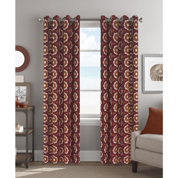 Colordrift Leila 84-inch Grommet-top Single-curtain Panel