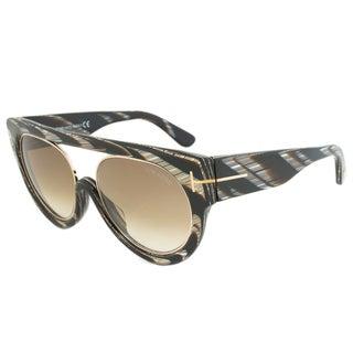 Tom Ford Alana Oval Women's Sunglasses FT0360 63F