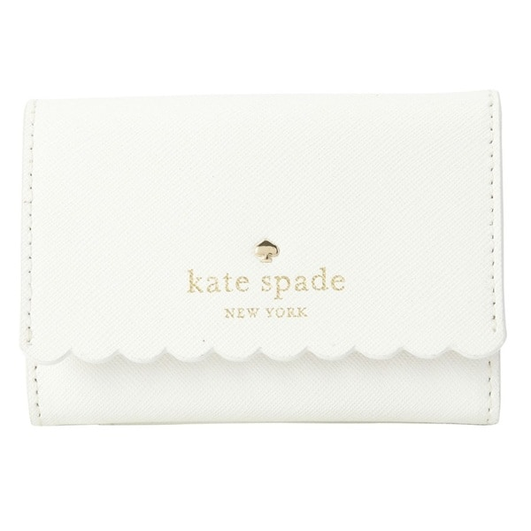 Kate Spade New York Cape Drive Darla Bright White/Porcelain Credit Card Holder