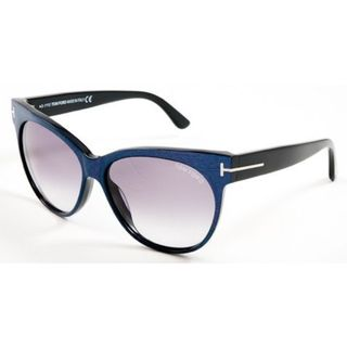 Tom Ford TF0330-82B Cateye Smoke Gradient Sunglasses