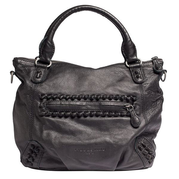 Liebeskind Berlin Women's GretaBO Black Leather Shoulder Bag