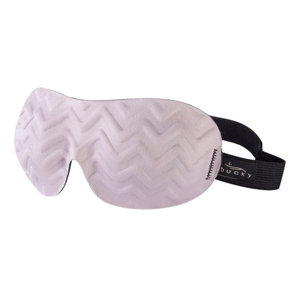 Bucky Chevron Pink Sleep Eye Mask