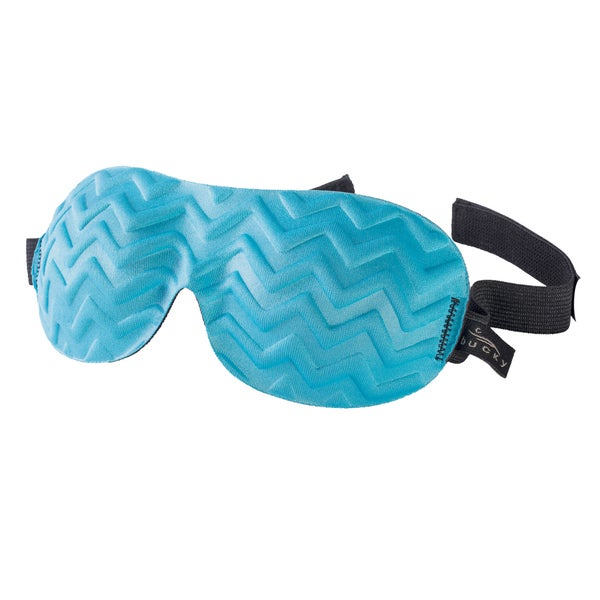 Bucky Blue Jade Chevron Sleep Eye Mask