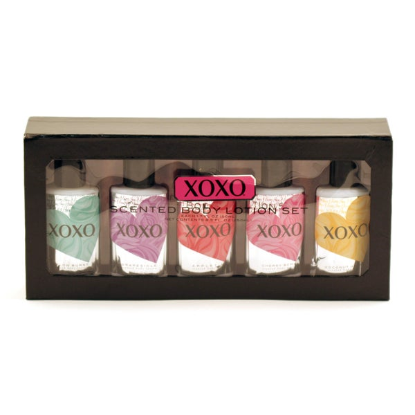 XOXO Scented 5-piece Body Lotion Set