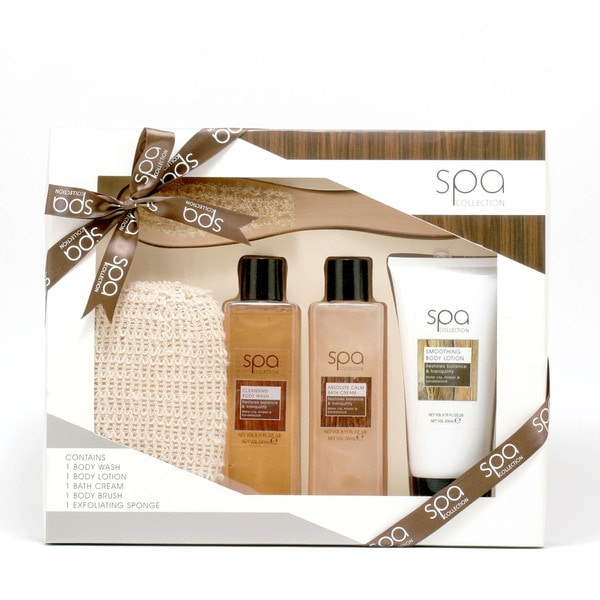 Style & Grace 5-piece Spa Deluxe Natural Spa Experience Gift Set