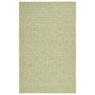 Trends Celery Geo Wool Rug (8'0 x 11'0)