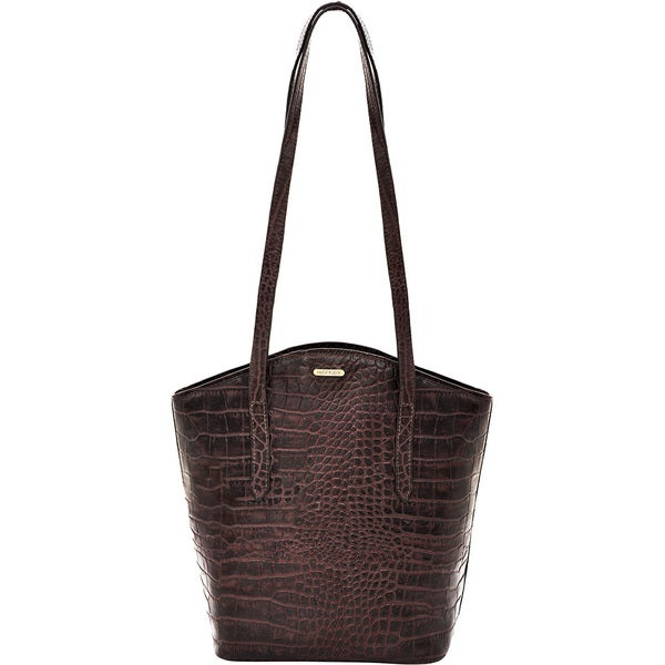 Hidesign Bonn Brown Leather Classic Shoulder Handbag