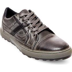 Men's Steve Madden Hancock Sneaker Dark Grey Leather
