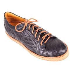 Men's Giovanni Marquez Z0004 Perforated Sneaker Nero Leather