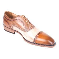 Men's Giovanni Marquez 47979 Brogue Tan/Cream Leather