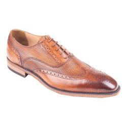 Men's Giovanni Marquez 47988 Wing Tip Oxford Tan Leather