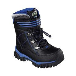 Boys' Skechers Arktic Cold Weather Boot Black/Royal