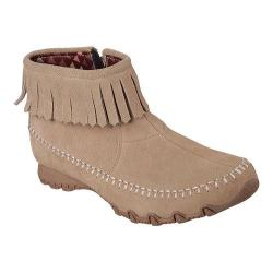 Women's Skechers Relaxed Fit Bikers Indian Summer Ankle Boot Sand
