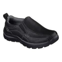 Boys' Skechers Relaxed Fit Superior Haute Slip On Black