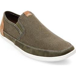 Men's Steve Madden Foleeo Slip-On Sneaker Olive Canvas