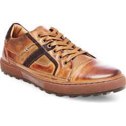 Men's Steve Madden Hancock Sneaker Dark Tan Leather